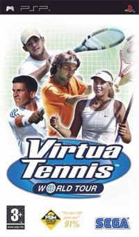 Okładka Virtua Tennis: World Tour (PSP)