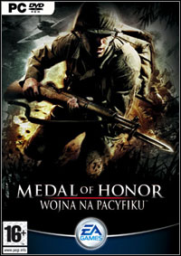 Okładka Medal of Honor: Pacific Assault (PC)