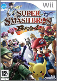 Okładka Super Smash Bros. Brawl (Wii)