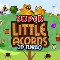 Okładka Super Little Acorns 3D Turbo (3DS)
