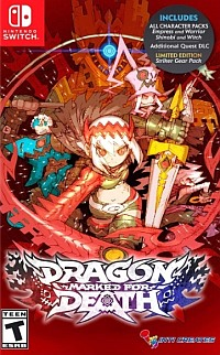 Okładka Dragon: Marked for Death (Switch)