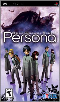 Game Box for Shin Megami Tensei: Persona (PSP)
