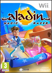Game Box for Aladin Magic Racer (Wii)