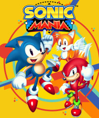 Game Sonic Mania (PC) cover
