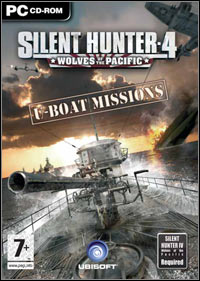 Okładka Silent Hunter 4: Wolves of the Pacific – U-Boat Missions (PC)