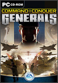 Okładka Command & Conquer: Generals (PC)
