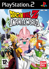 Game Box for Dragon Ball Z: Infinite World (PS2)