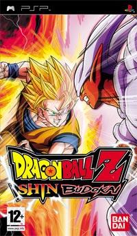 Okładka Dragon Ball Z: Shin Budokai (PSP)