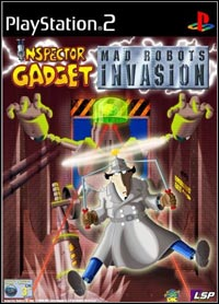 Okładka Inspector Gadget: Mad Robots Invasion (PS2)
