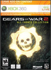 Okładka Gears of War 2: All Fronts Collection (X360)