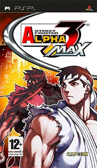 Okładka Street Fighter Alpha 3 Max (PSP)
