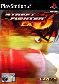 Okładka Street Fighter EX3 (PS2)