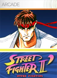 Game Box for Street Fighter II: Hyper Fighting (X360)