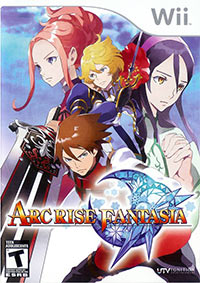Game Box for Arc Rise Fantasia (Wii)