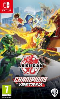 Okładka Bakugan: Champions of Vestroia (Switch)