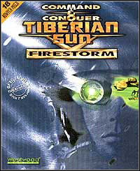 Okładka Command & Conquer: Tiberian Sun Firestorm (PC)