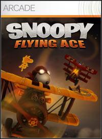 Okładka Snoopy Flying Ace (X360)