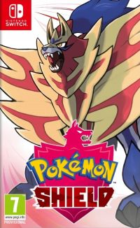 Okładka Pokemon Shield (Switch)