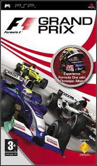 Game Box for F1 Grand Prix (PSP)