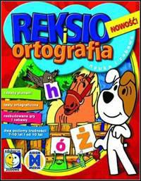 Okładka Reksio and spelling (PC)