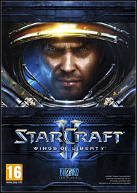 Game Box for StarCraft II: Wings of Liberty (PC)