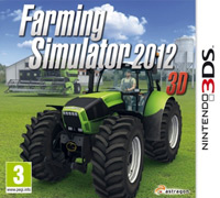 Okładka Farming Simulator 2012 3D (3DS)
