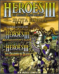 Okładka Heroes of Might and Magic III: Zlota Edycja (PC)