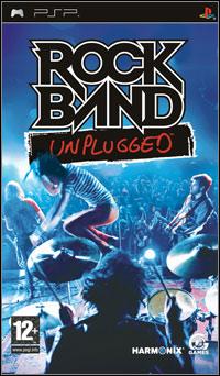 Okładka Rock Band: Unplugged (PSP)