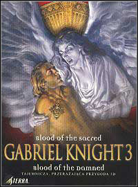 Game Box for Gabriel Knight 3: Blood of the Sacred, Blood of the Damned (PC)