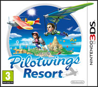 Okładka PilotWings Resort (3DS)