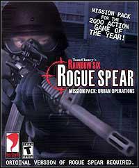 Okładka Tom Clancy's Rainbow Six Rogue Spear: Urban Operations (PC)