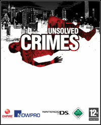 Game Box for Unsolved Crimes (NDS)