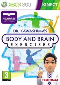 Okładka Dr. Kawashima's Body and Brain Exercises (X360)