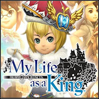 Okładka Final Fantasy Crystal Chronicles: My Life as a King (Wii)
