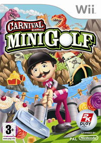 Game Box for Carnival Games Mini Golf (Wii)