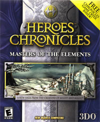 Okładka Heroes Chronicles: Masters of The Elements (PC)