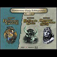 Saga Baldur's Gate: Edycja Kolekcjonerska (PC cover