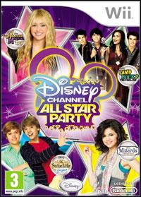 Okładka Disney Channel All Star Party (Wii)