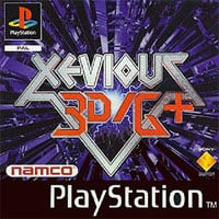 Okładka Xevious 3D/G (PS1)