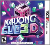 Okładka Mahjong Cub3D (3DS)