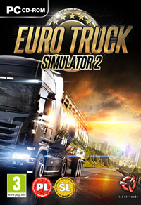 Okładka Euro Truck Simulator 2 (PC)