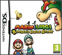Okładka Mario & Luigi: Bowser's Inside Story (NDS)