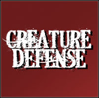 Game Box for Creature Defense (PSP)