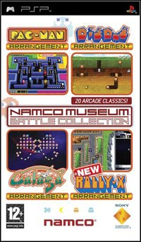Okładka Namco Museum Battle Collection (PSP)