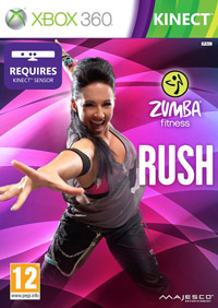 Okładka Zumba Fitness Rush (X360)