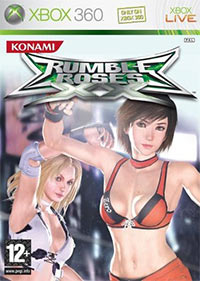 Rumble Roses XX (X360 cover