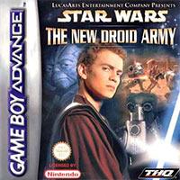 Okładka Star Wars Episode II: The New Droid Army (GBA)