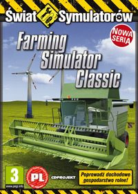 Game Box for Farming Simulator 2008 (PC)
