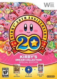 Okładka Kirby's Dream Collection (Wii)
