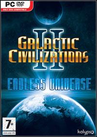 Okładka Galactic Civilizations II: Endless Universe (PC)